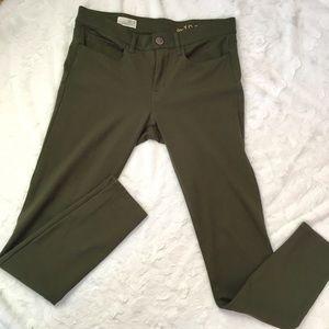 Gap Olive legging Jean skinny pants